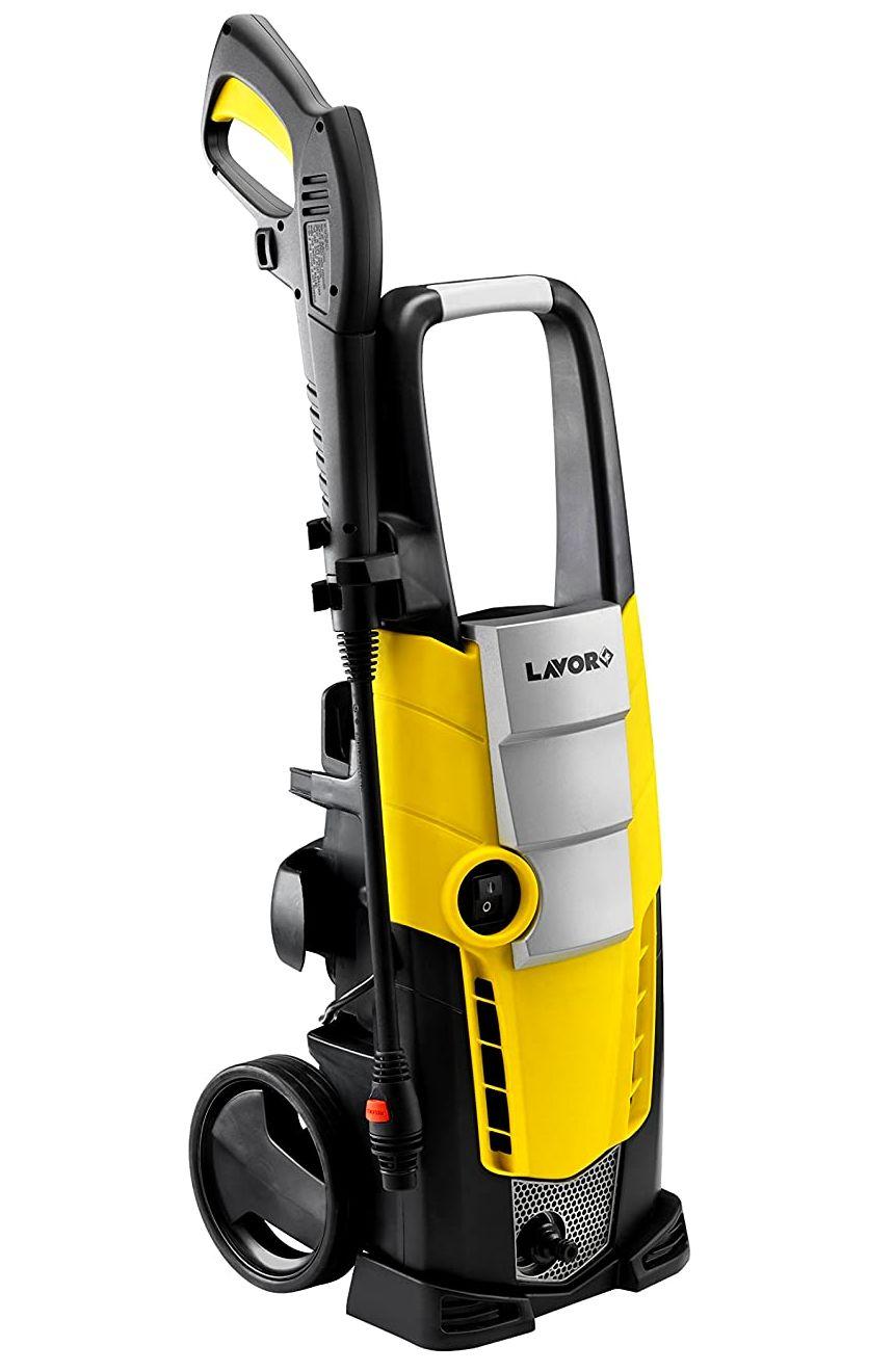 Idropulitrice domestica LAVOR GALAXY 150 ad acqua fredda, con lavasuperfici, per lavare ampi viali e marciapiedi, mobili da giardino, biciclette, moto e auto