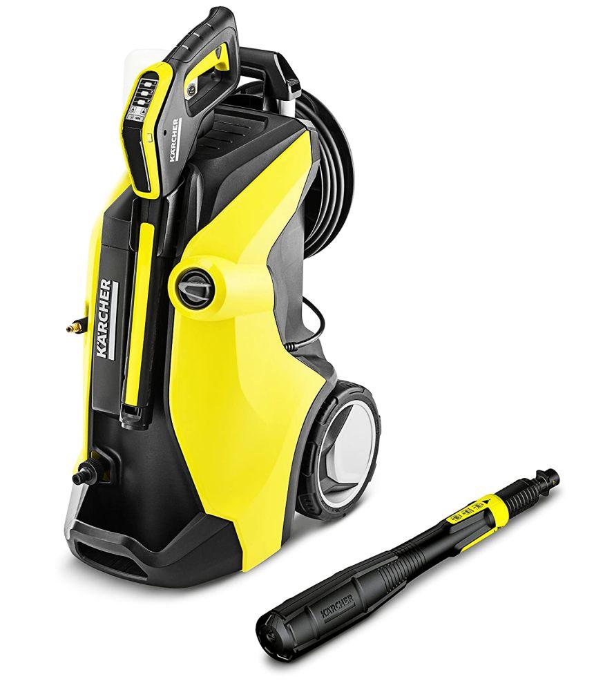 Idropulitrice KÄRCHER K 7 Premium Full Control Plus con motore raffreddato ad acqua, top di gamma con pistola con display LCD e lancia 3 in 1, per pulire in giardino proprio tutto